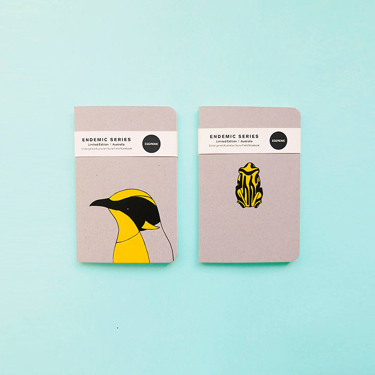 Endemic Series - Limited Edition Notebooks - Eggpicnic