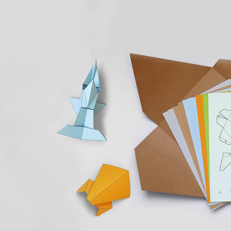 The Ark - Paper folding animal kit - Eggpicnic